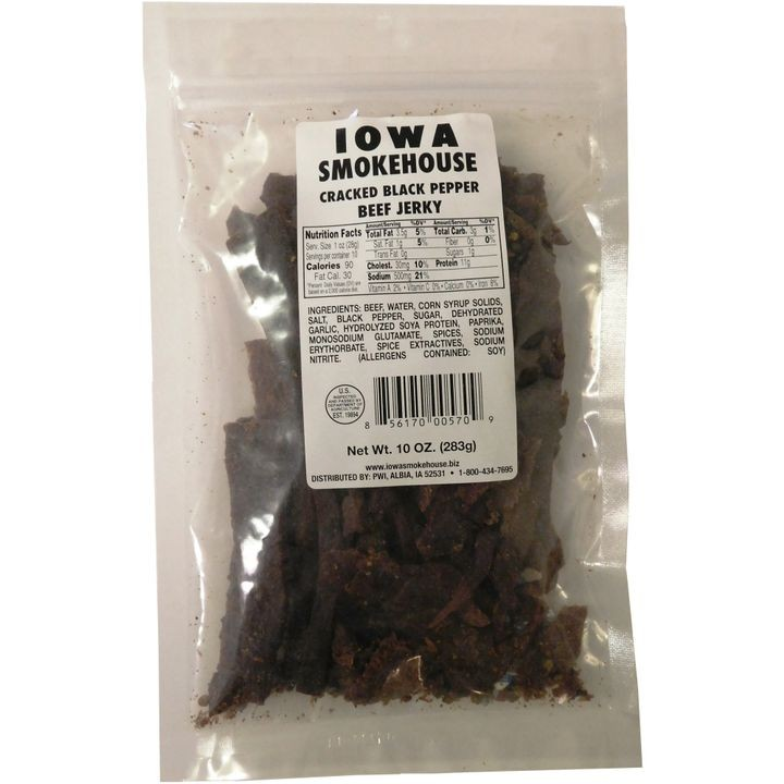 10 oz Beef Jerky Cracked Black Pepper