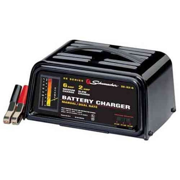 6/12 V 6/2 Amp Battery Charger