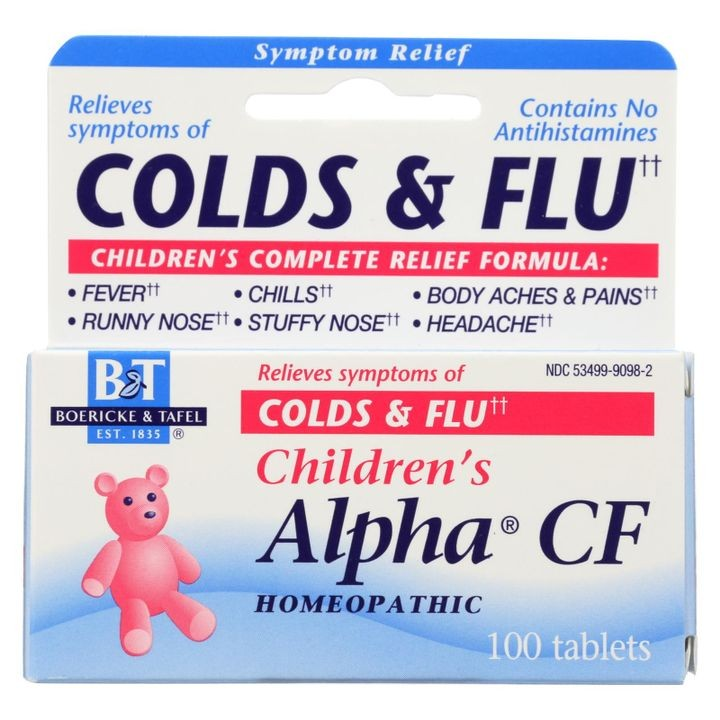 - Children's Alpha Cf - 100 Tablets