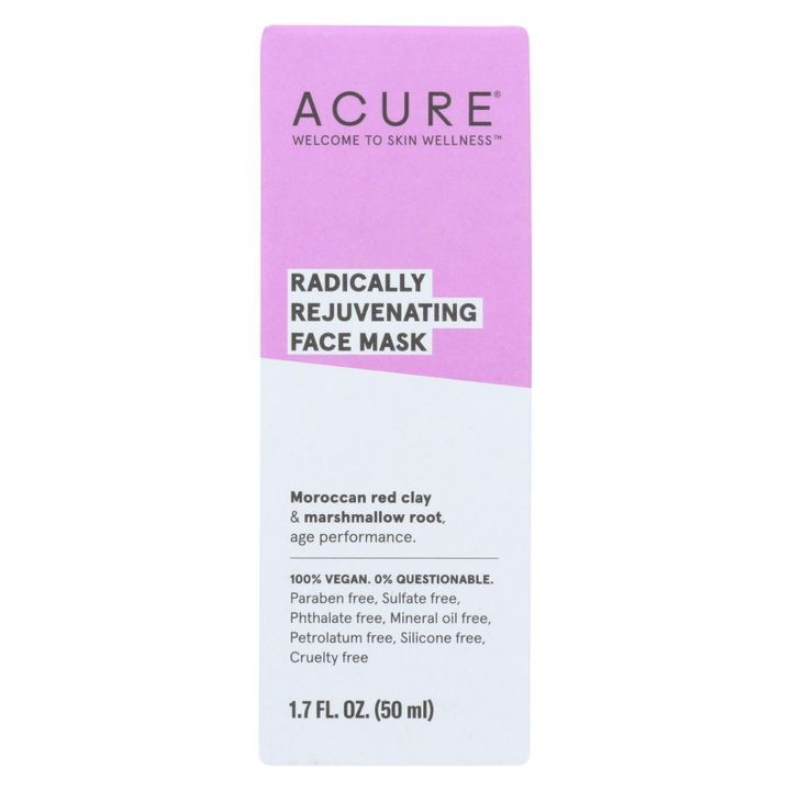 - Mask - Facial - Red Clay - 1.7 Fl Oz