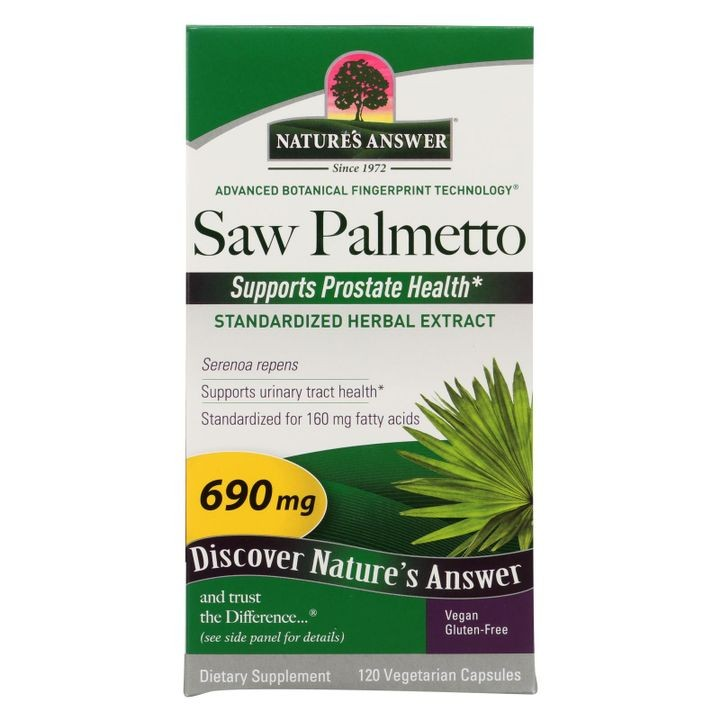 - Saw Palmetto Berry Extract - 120 Vcaps