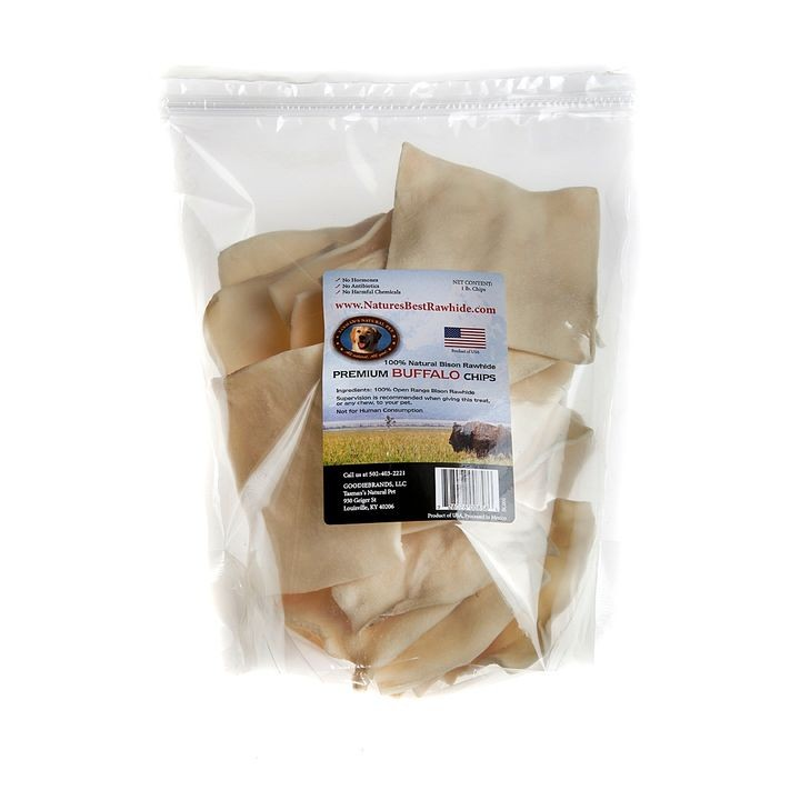 Bison Chips - 1# bag
