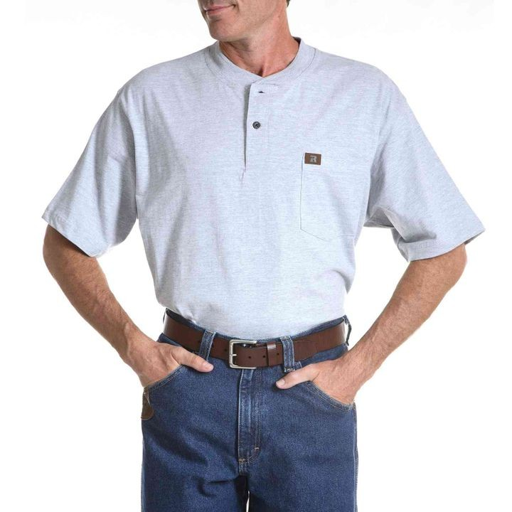 5d9066e8a3eb Men's Riggs Workwear Short-Sleeve Henley | Theisen's Home & Auto