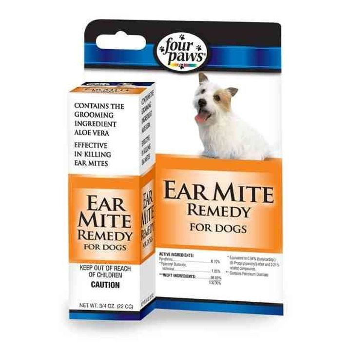 Ear Mite Remedy for Dogs
