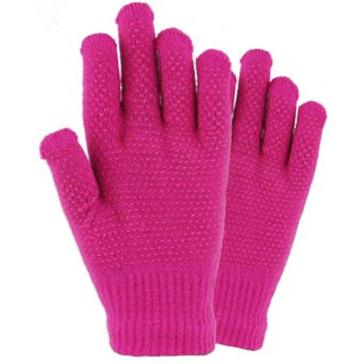 Ladies' Acrylic Gripper Strech Glove