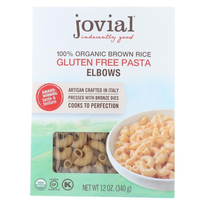- Gluten Free Brown Rice Pasta - Elbow - Case Of 12 - 12 Oz.