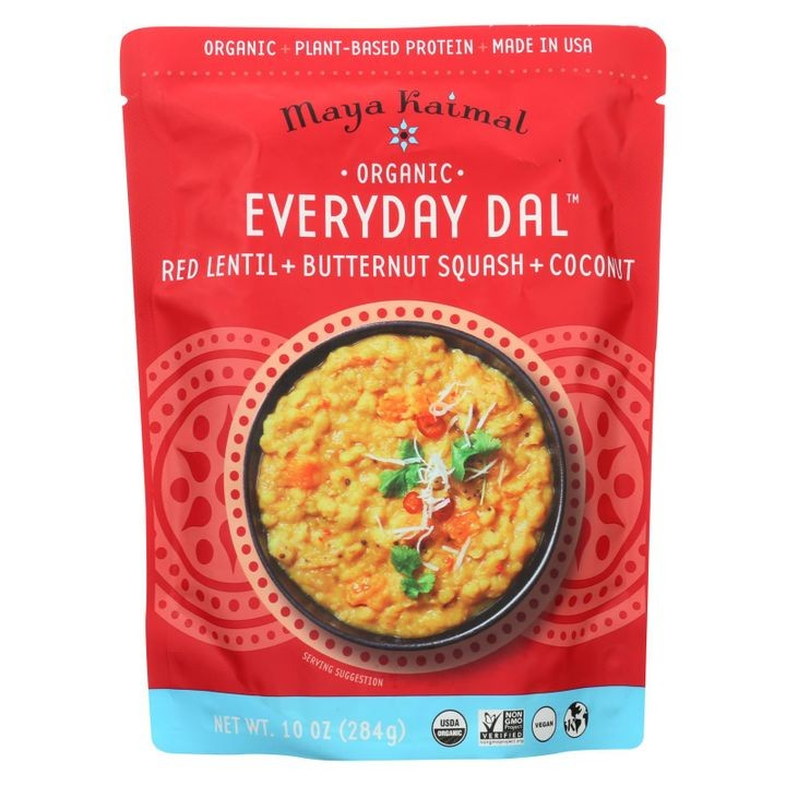 - Organic Everyday Dal - Red Lentil Butternut Squash Coconut - Cs Of 6 -10 Oz