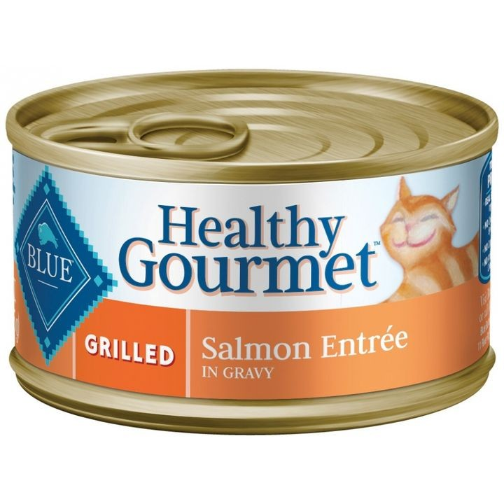 Healthy Gourmet Grilled Salmon Entree Canned Cat Food, 3 Oz, Case Of 24