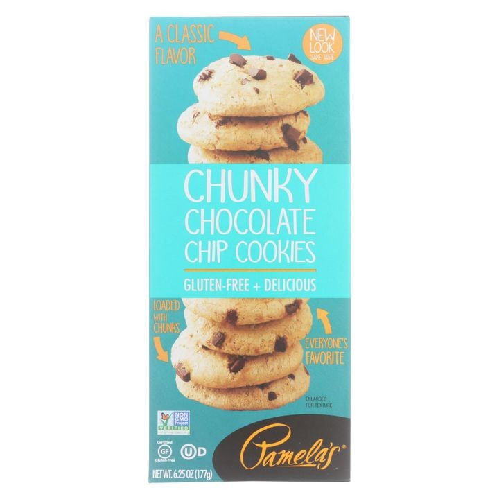 - Cookies - Chunky Chocolate Chip - Gluten-free - Case Of 6 - 6.25 Oz.