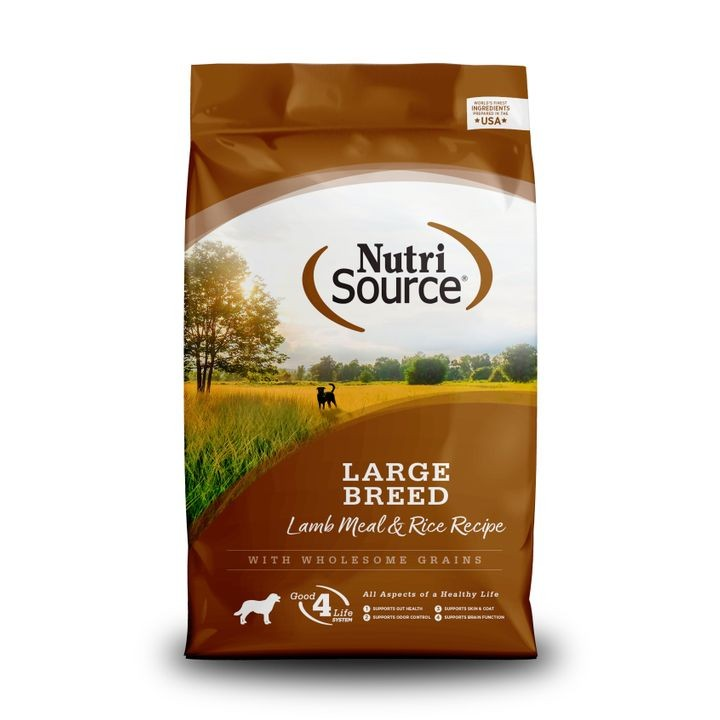 Large Breed Lamb & Rice Dry Dog Food - 30 lbs