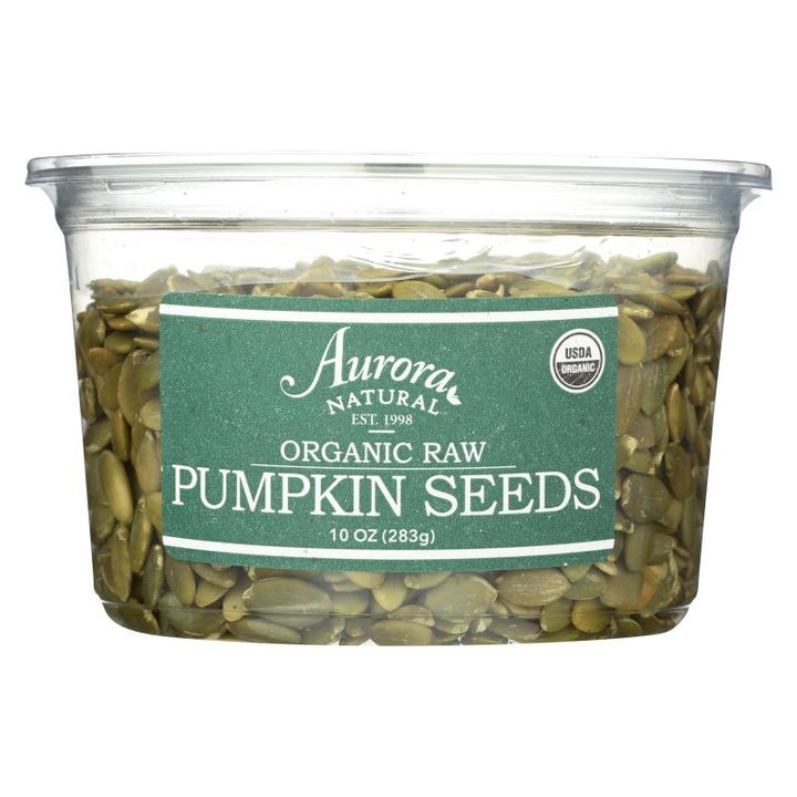 Organic Raw Pumpkin Seeds - Case Of 12 - 10 Oz.