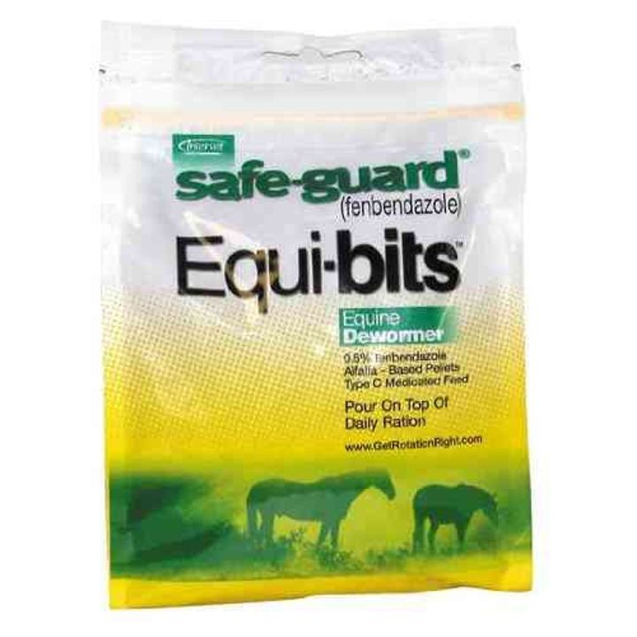 Safe-Guard Equibits Medicated Equine Dewormer 1.25 lbs