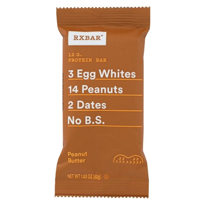 - Protein Bar - Peanut Butter - Case Of 12 - 1.83 Oz.