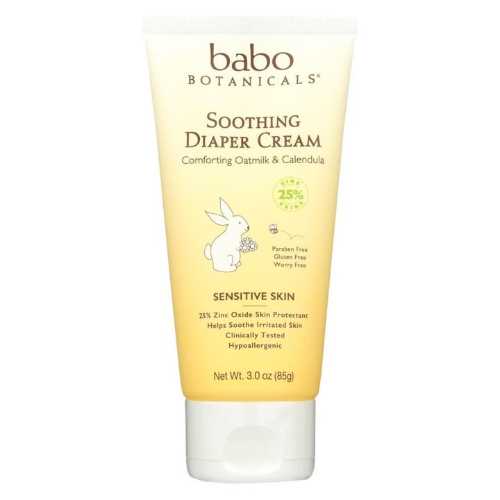 - Diaper Cream - Soothing - 3 Oz