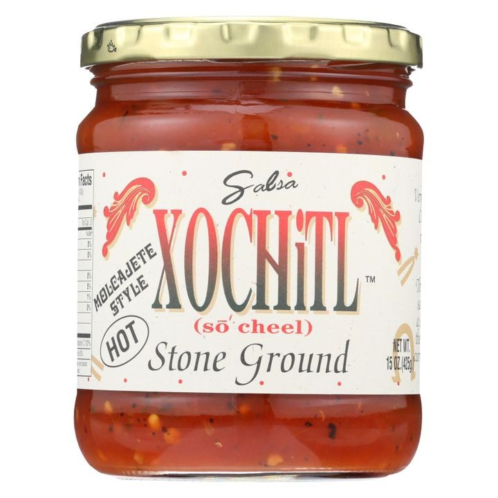 - Stone Ground Salsa - Hot - Case Of 6 - 15 Oz.
