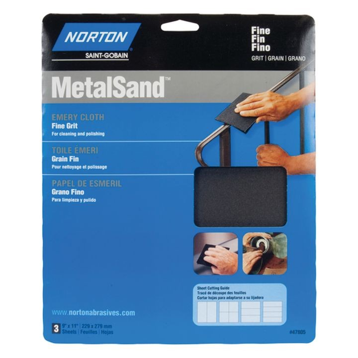 07660747805 Metal Sand Sheet, 11 In X 9 In