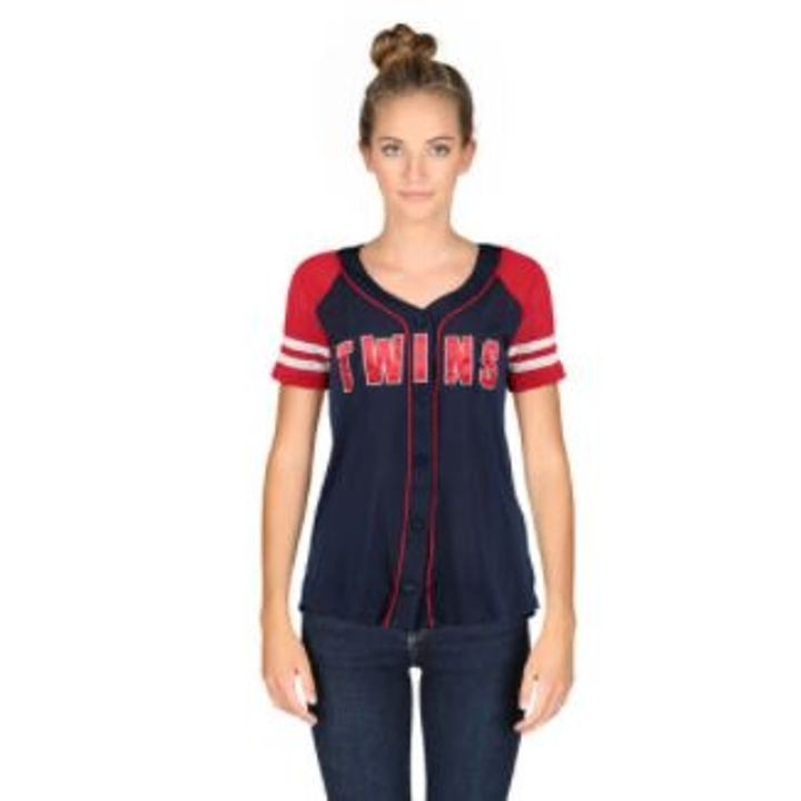 70d8ebcba98 Ladies' Minnesota Twins Jersey Style Tee | Theisen's Home & Auto