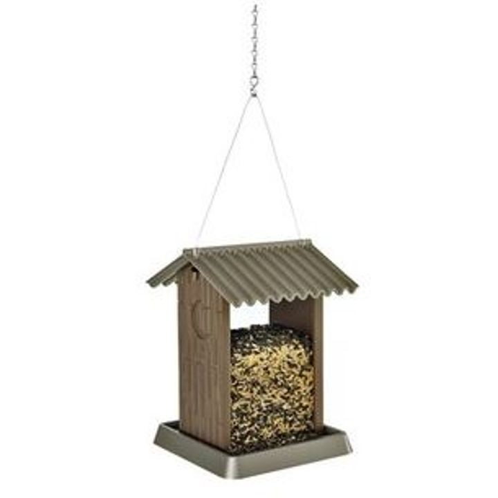 Outhouse Mixed Seed Bird Feeder