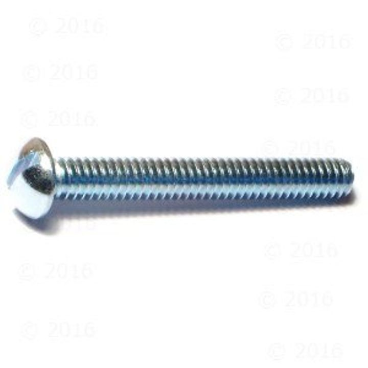 1/4-20-Inch x 2-Inch Slotted Round Machine Screws, 100-Piece