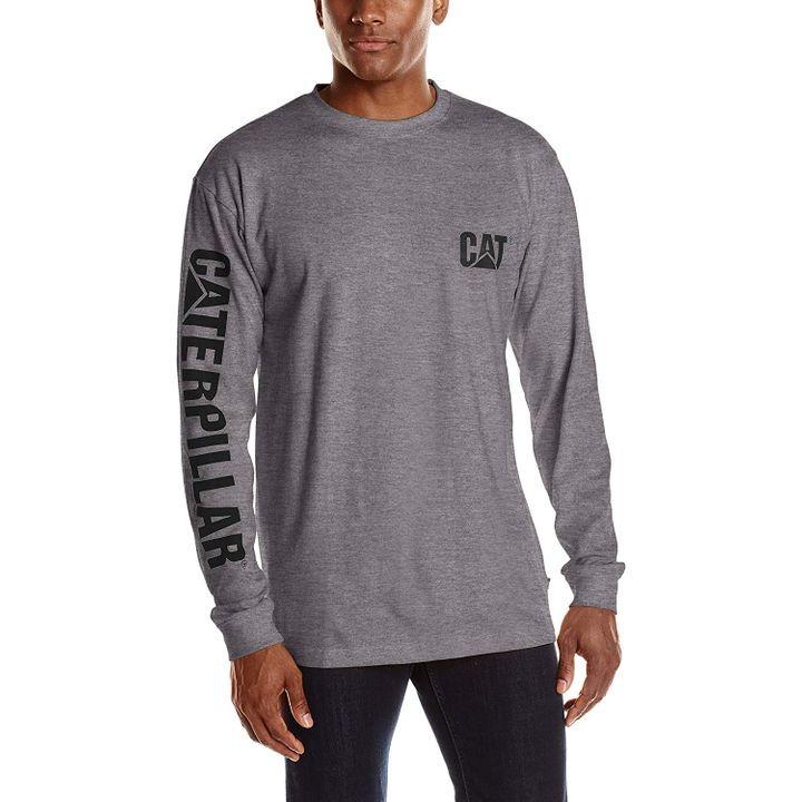 Caterpillar Trademark Banner Long Sleeve T-Shirt
