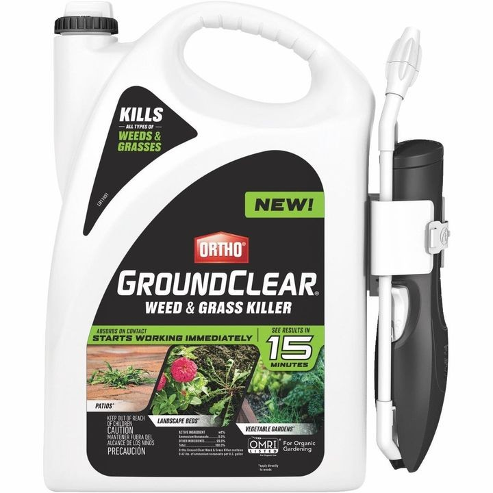 1 Gallon Ortho GroundClear Weed & Grass Killer