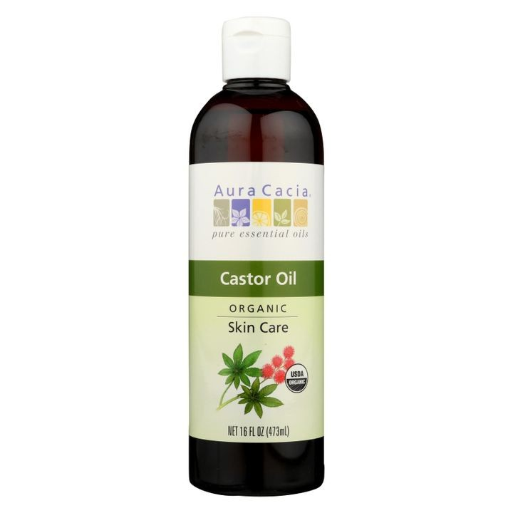 - Skin Care Oil - Organic Castor Oil - 16 Fl Oz