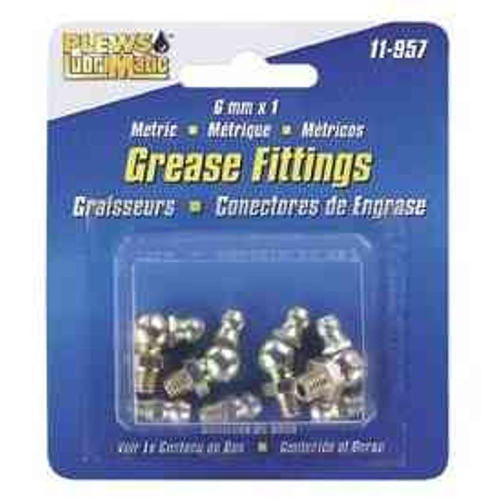 Metric Grease Fitting Assortment