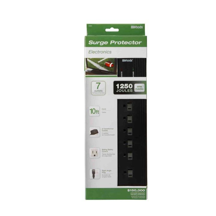 7-Outlet Surge Protector
