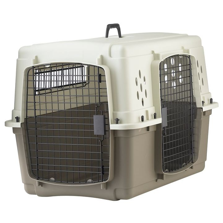 Medium Double Door Plastic Crate