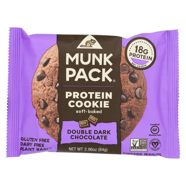 - Protein Cookie - Double Dark Chocolate - Case Of 6 - 2.96 Oz.