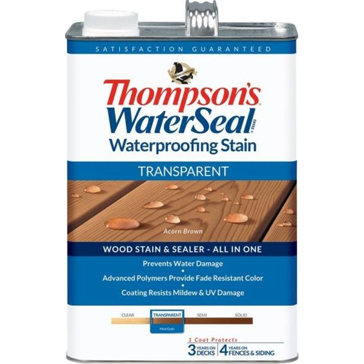 1 Gallon Thompsons Acorn Brown Transparent Waterproofing Stain