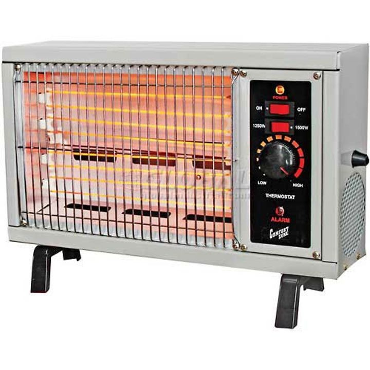 Radiant Electric Wire Element Box Heater White | Theisen\'s Home & Auto