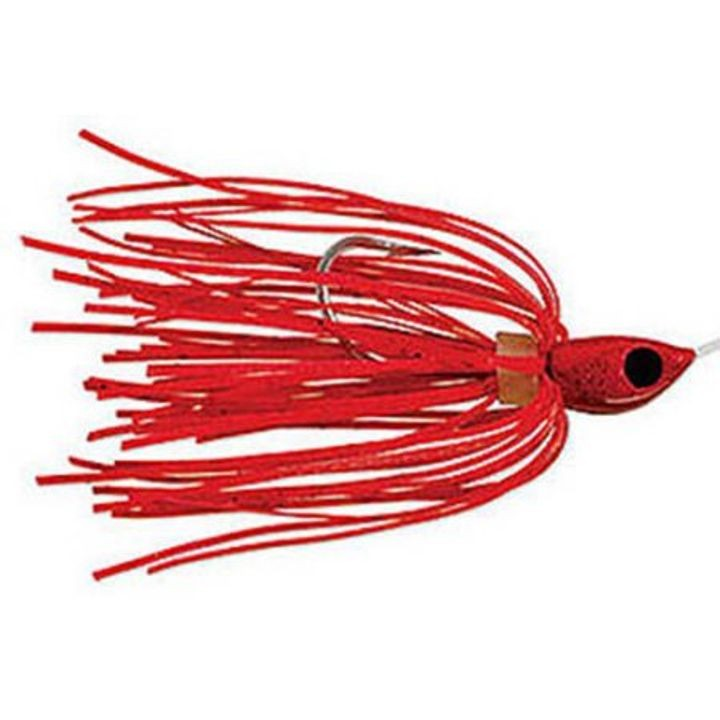 1/16 oz Micro King Spinnerbait Red Head and Skirt