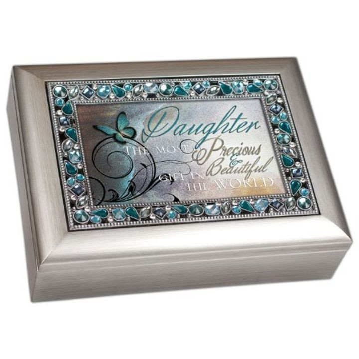 """Daughter"" Musical Jewelry Box"
