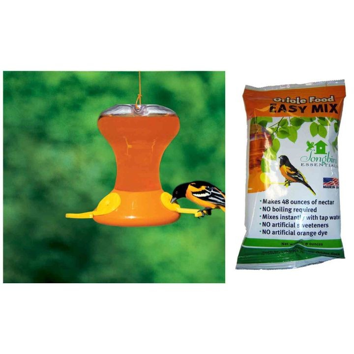Fliteline Junior 30 oz Oriole Feeder With Nectar
