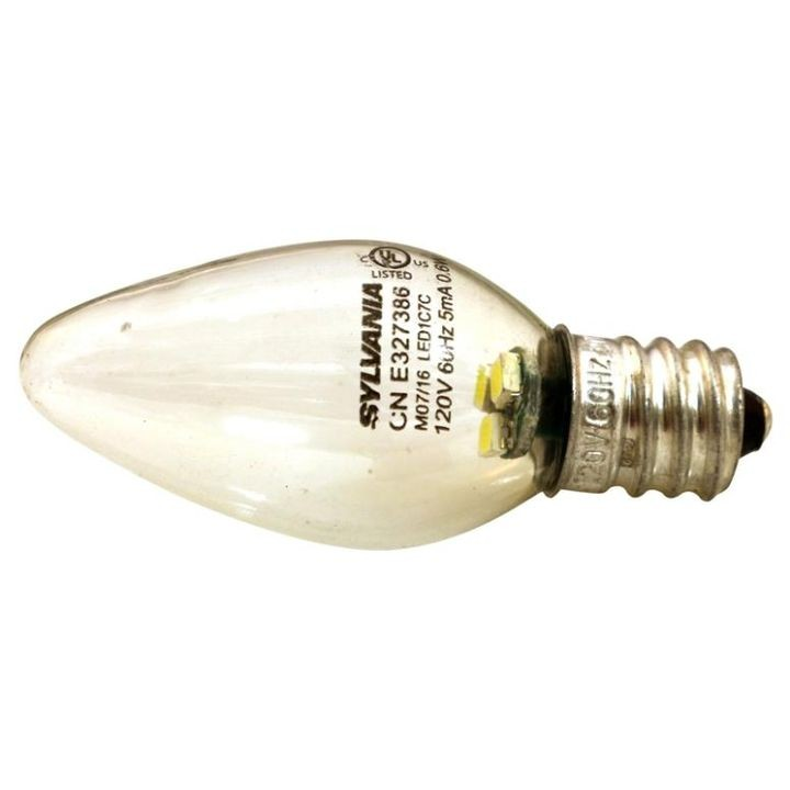 0.6 Watt 120 V LED C7 Night Light Bulb