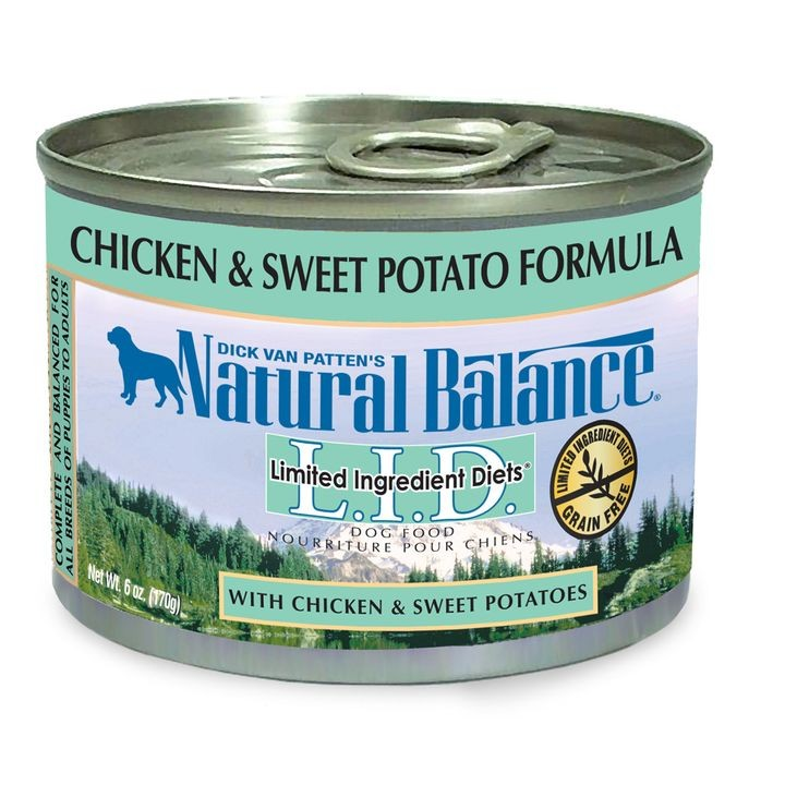 Sweet Potato & Chicken Dog Food