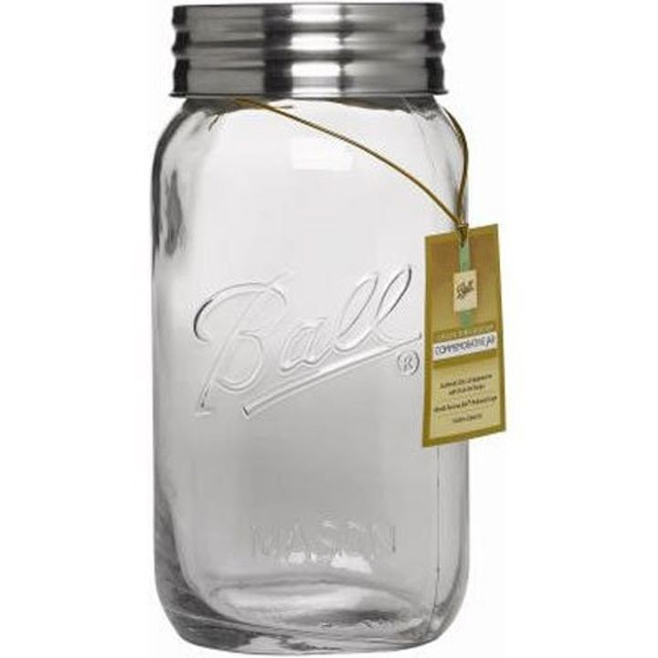 1 Gallon Super Wide Decorative Jar