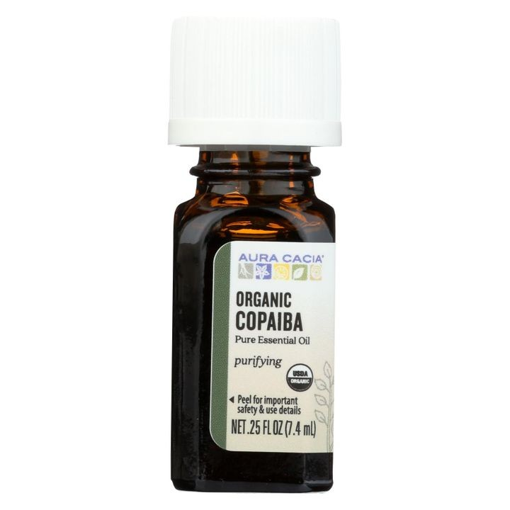 - Essential Oil - Copaiba - Case Of 1 - .25 Fl Oz.