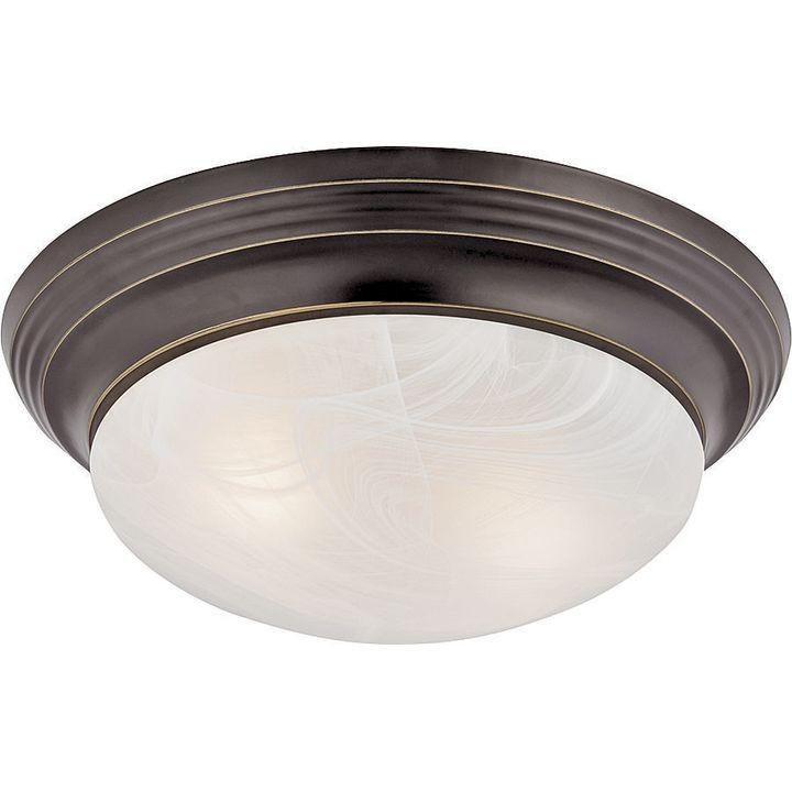 competitive price b4561 88edd Boston Harbor Dimmable Ceiling Light Fixture, (2) 60/13 W Medium A19/cfl  Lamp, Venetian Bronze