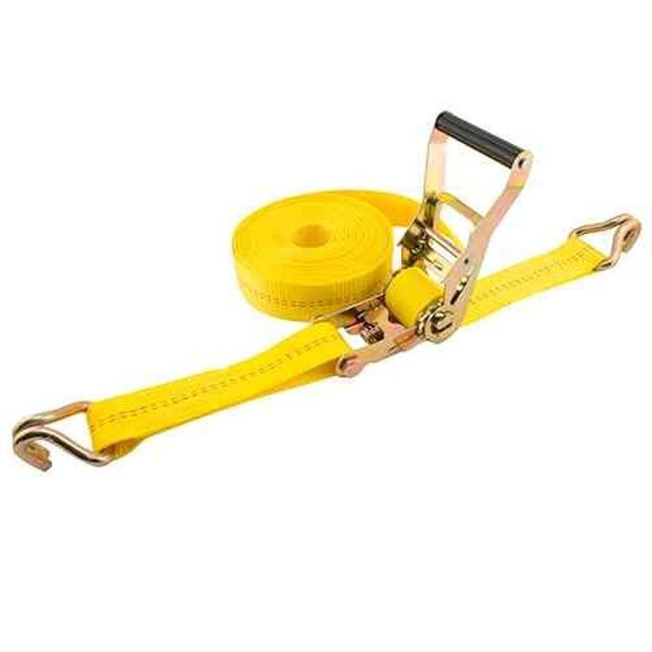 10,000 lb Ratchet Strap with Double  J Hooks