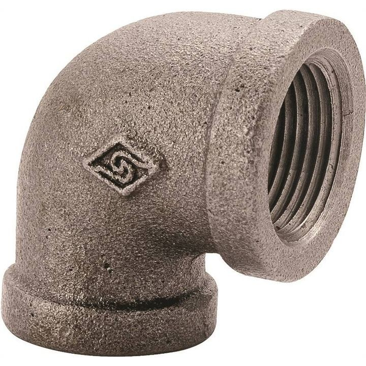 "1"" 90 Degree Threaded Pipe Elbow"