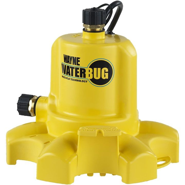 0.16 HP WaterBUG Submersible Utility Pump with Multi-Flo Technology