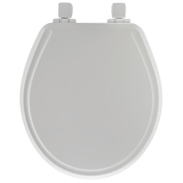 Superb Mayfair 148Slowa 000 148E Toilet Seat Elongated Wood White Machost Co Dining Chair Design Ideas Machostcouk