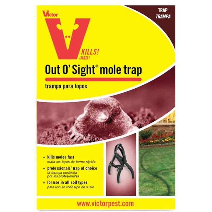 Out O' Sight Mole Trap