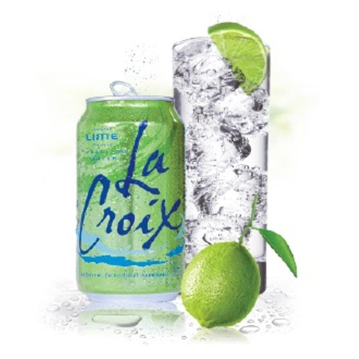 Lime Flavored Sparkling Water 12 Pack of Cans