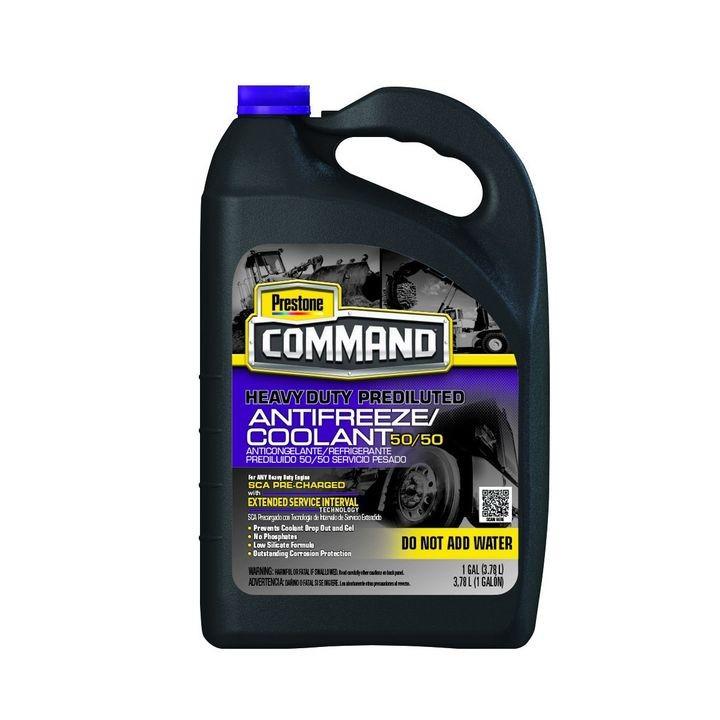 Prestone Command 50/50 Heavy-Duty Antifreeze and Coolant