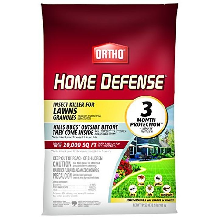 Home Defense Insect Killer for Lawns Granule
