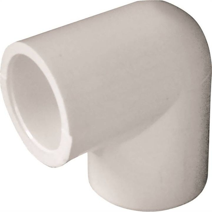 "1/2"" Slip 90 Degree White Pipe Elbow"