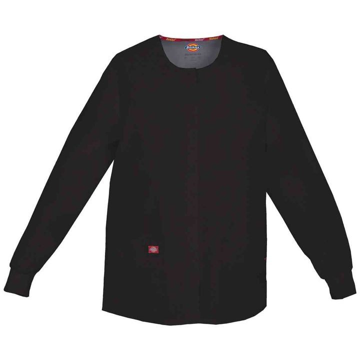 Ladies' Snap Front Warm-Up Scrub Jacket